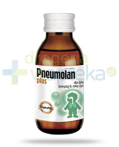 Pneumolan Plus syrop dla dzieci 6+ 120 ml