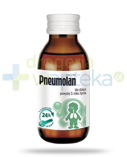 Pneumolan syrop dla dzieci 3+ 120 ml