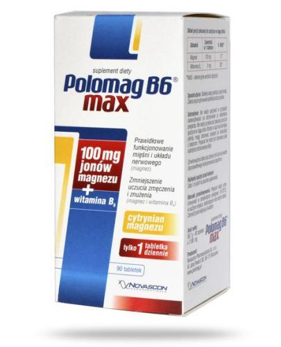 Polomag B6 Max 90 tabletek