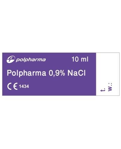 Polpharma 0,9% NaCl izotoniczny, sterylny roztwór chlorku sodu 100 x 10 ml