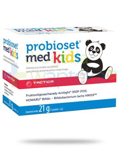 Probioset med kids 7 saszetek    whited-out