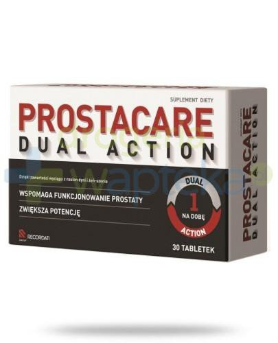 Prostacare Dual Action 30 tabletek   whited-out