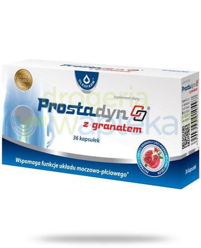 Prostadyn z granatem 36 kapsułek  whited-out