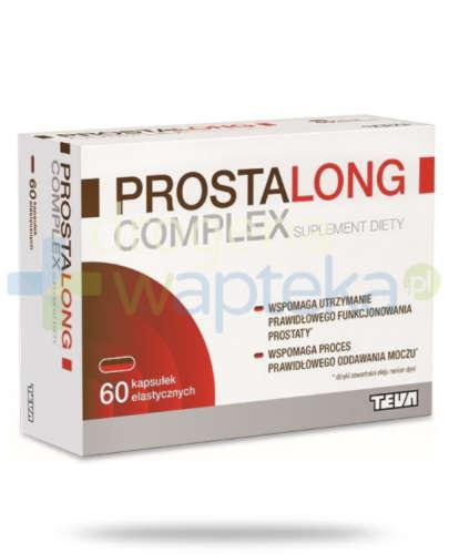 Prostalong Complex 60 kapsułek  whited-out