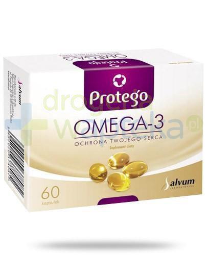 Protego Omega-3 ochrona twojego serca 60 kapsułek [Data ważności 31-10-2020]