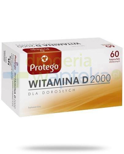 Protego witamina D 2000j.m. dla dorosłych 60 kapsułek
