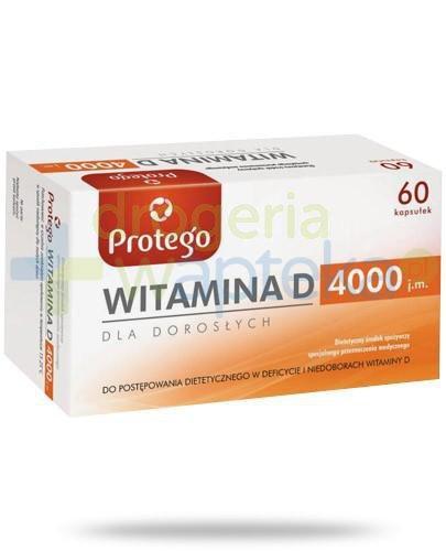 Protego witamina D 4000j.m. dla dorosłych 60 kapsułek