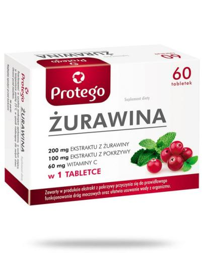 Protego Żurawina 60 tabletek