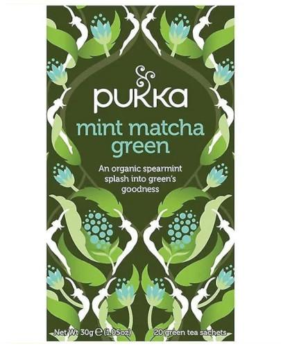 Pukka Mint Matcha Green herbata zielona mięta 20 torebek