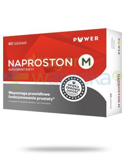 Puwer Naproston M 60 tabletek   whited-out