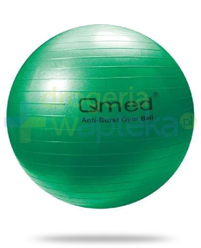 Qmed Gym Ball piłka rehabilitacyjna z systemem ABS kolor zielony z pompką 1 sztuka