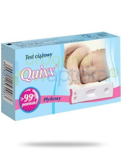 Quixx test ciążowy płytkowy 1 sztuka