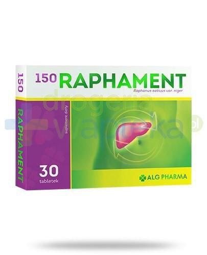 Alg Pharma Raphament 150 30 tabletek powlekanych
