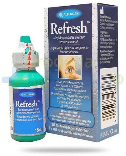 Refresh krople do oczu 15 ml
