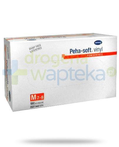 Hartmann Peha-Soft Vinyl rękawice winylowe bezpudrowane rozmiar M 100 sztuk