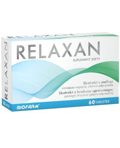 Relaxan 60 tabletek