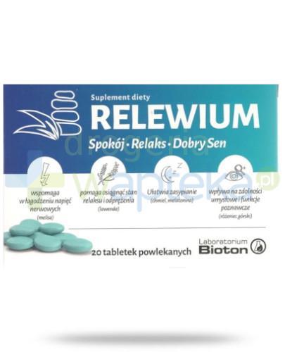 Relewium 20 tabletek powlekanych