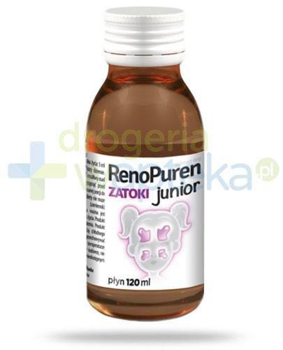 RenoPuren Zatoki Junior wsparcie układu odpornościowego dla dzieci 120 ml