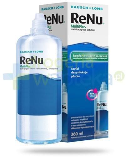 ReNu MultiPlus komfort świeżych soczewek płyn do soczewek 120 ml