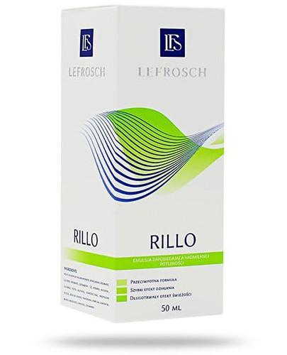 RILLO emulsja zapobiegająca nadmiernej potliwości 50 ml