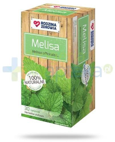 Rodzina Zdrowia Melisa herbatka ziołowa 30 saszetek