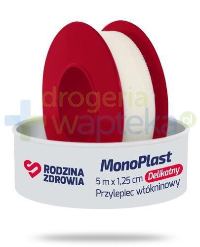 Rodzina Zdrowia MonoPlast delikatny przylepiec włókninowy do cięcia 5m x 1,25cm