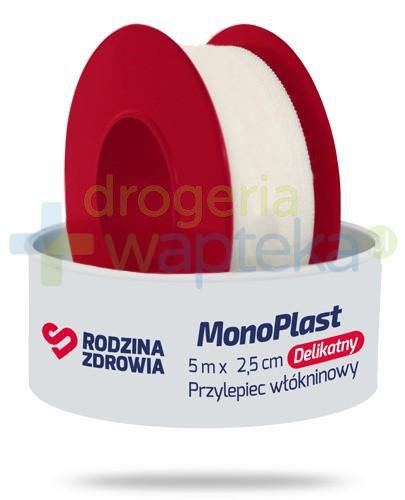 Rodzina Zdrowia MonoPlast delikatny przylepiec włókninowy do cięcia 5m x 2,5cm