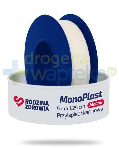Rodzina Zdrowia MonoPlast mocny przylepiec tkaninowy do cięcia 5m x 1,25cm