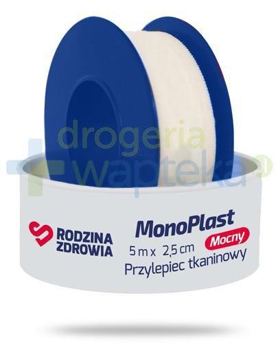 Rodzina Zdrowia MonoPlast mocny przylepiec tkaninowy do cięcia 5m x 2,5cm