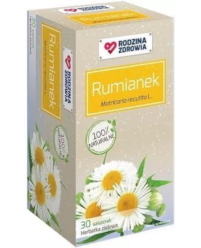 Rodzina Zdrowia Rumianek herbatka ziołowa 30 saszetek