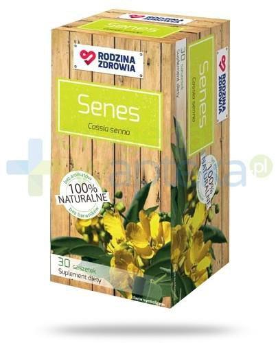 Rodzina Zdrowia Senes 750mg zioła do zaparzania 30 saszetek