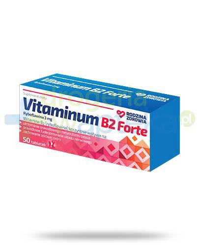 Rodzina Zdrowia Vitaminum B2 Forte 3mg 50 tabletek