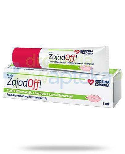 Rodzina Zdrowia ZajadOff maść do ochrony i pielęgnacji ust 5 ml