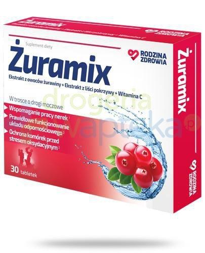 Rodzina Zdrowia Żuramix 30 tabletek