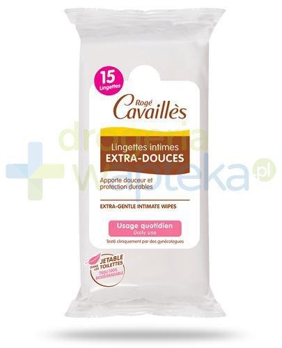 Roge Cavailles chusteczki do higieny intymnej 15 sztuk