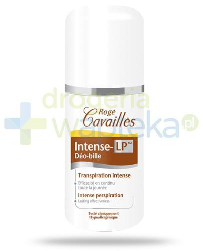 Roge Cavailles Intense LP roll-on przeciw nadmiernej potliwości 40 ml  whited-out