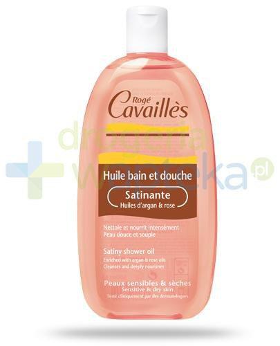 Roge Cavailles satynowy olejek arganowo różany 250 ml