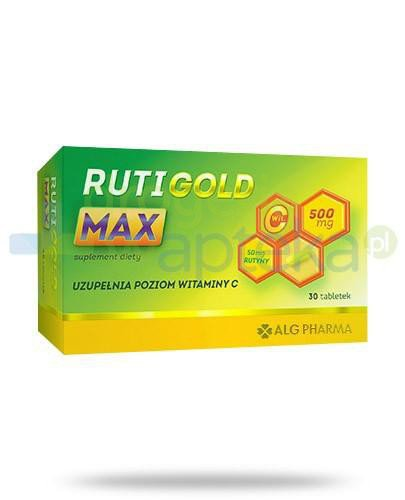 Alg Pharma Ruti Gold Max 30 tabletek  whited-out