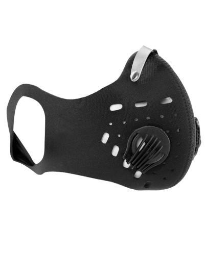 SafeMask Sport Black neoprenowa maska antysmogowa + filtr Sport N99
