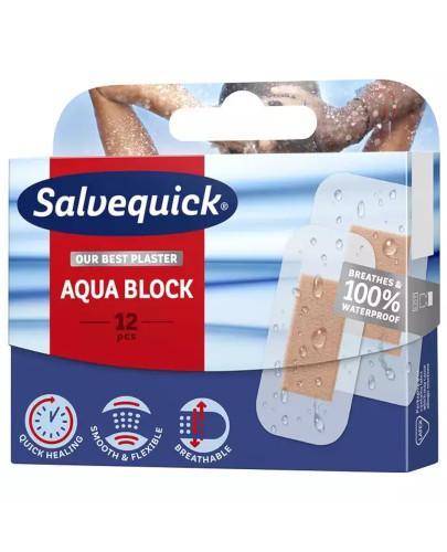 Salvequick Aqua Block plastry 12 sztuk