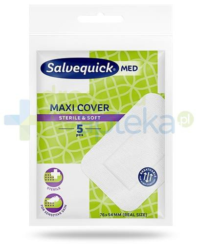 Salvequick Med Maxi Cover plastry 5 sztuk