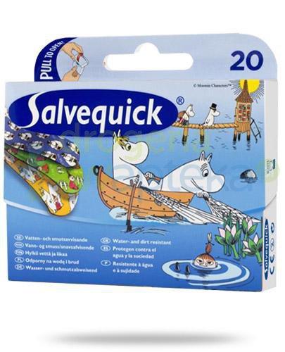 Salvequick Muminki plastry 20 sztuk