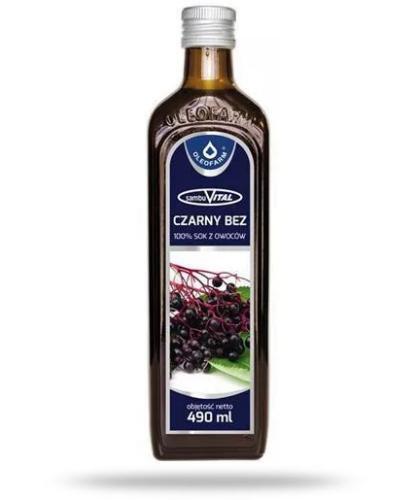 SambuVital Sok z owoców czarnego bzu 490 ml