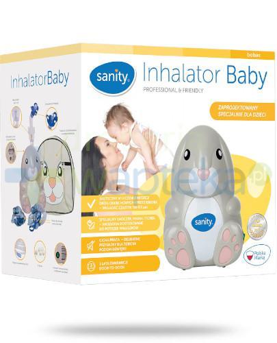 Sanity Baby AP 2116 inhalator komperesorowy z systemem wentylacji 1 sztuka