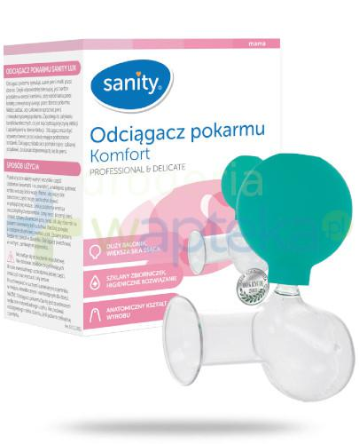 Sanity Komfort odciągacz pokarmu 1 sztuka