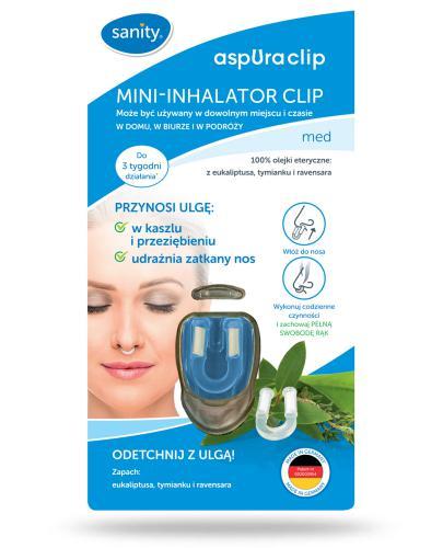 Sanity Mini-Inhalator Clip Med 1 sztuka