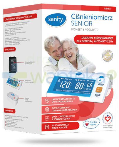 Sanity Senior AP 1216 ciśnieniomierz automatyczny naramienny 1 sztuka