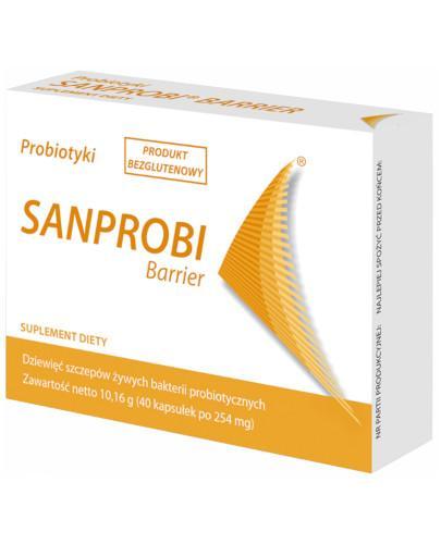 Sanprobi Barrier probiotyki 40 kapsułek