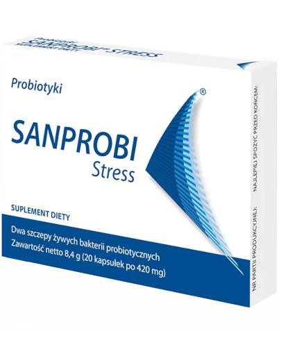 Sanprobi Stress probiotyki 20 kapsułek