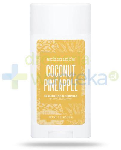Schmidt's Naturals Coconut + Pineapple dezodorant w sztyfcie 75 g